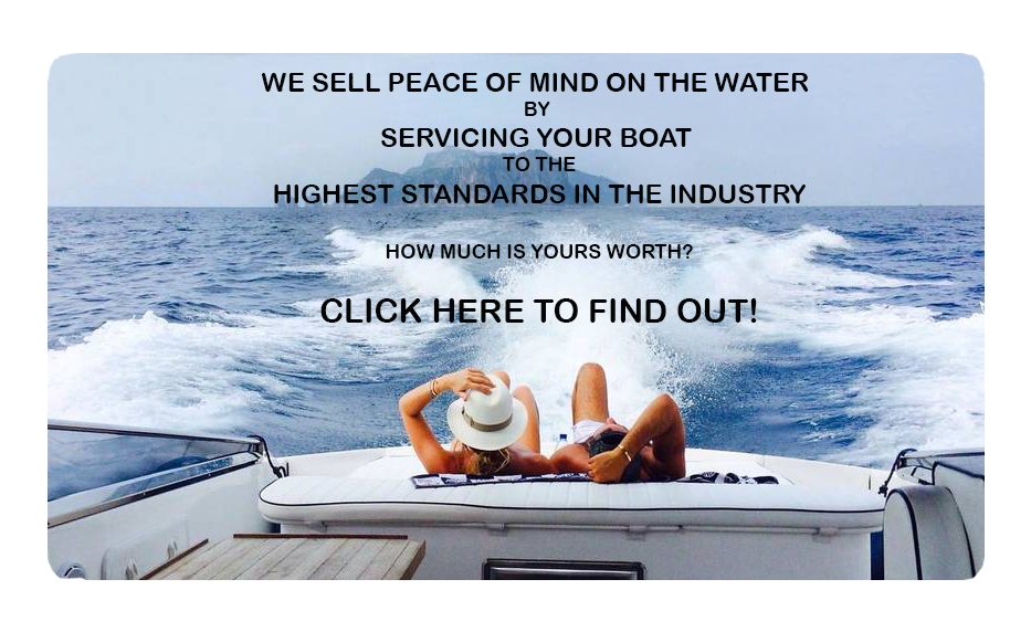 we sell peace of mind on the water
